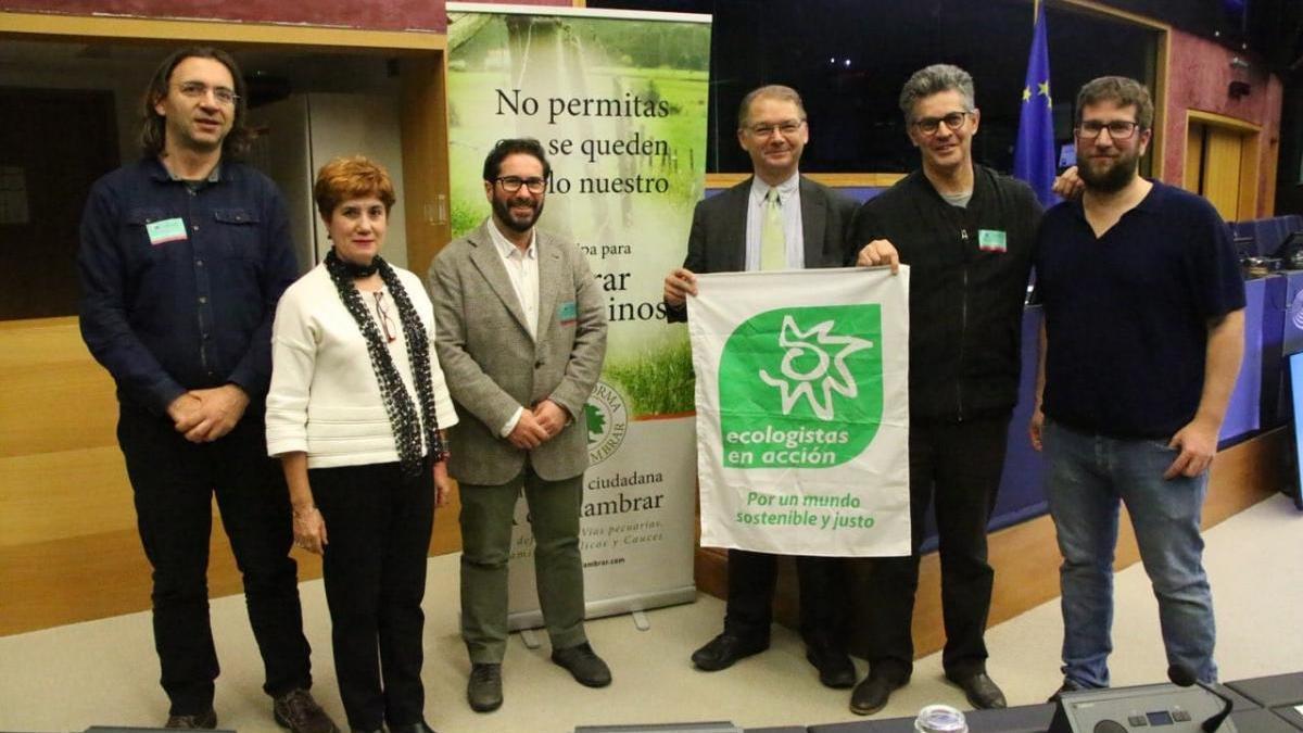 Podemos lleva a Estrasburgo la situación de las vías pecuarias y caminos públicos de Andalucía