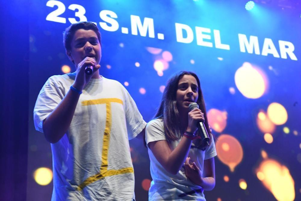 La gala del XVII Festival Intercentros recaudó 17.000 euros para el Hogar de Sor Eusebia y la Asociación de Padres de Personas con Trastornos del Espectro Autista (Aspanaes).