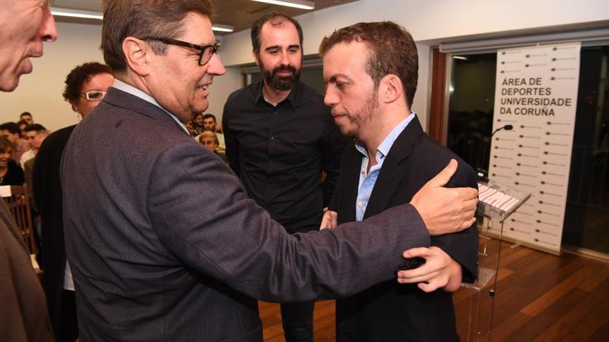 Alberto Seoane, premiado por su afán de superación y sus éxitos deportivos
