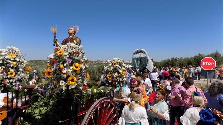 Sustituyen las romerías de San Isidro en Fuente Palmera y Santaella por otros actos