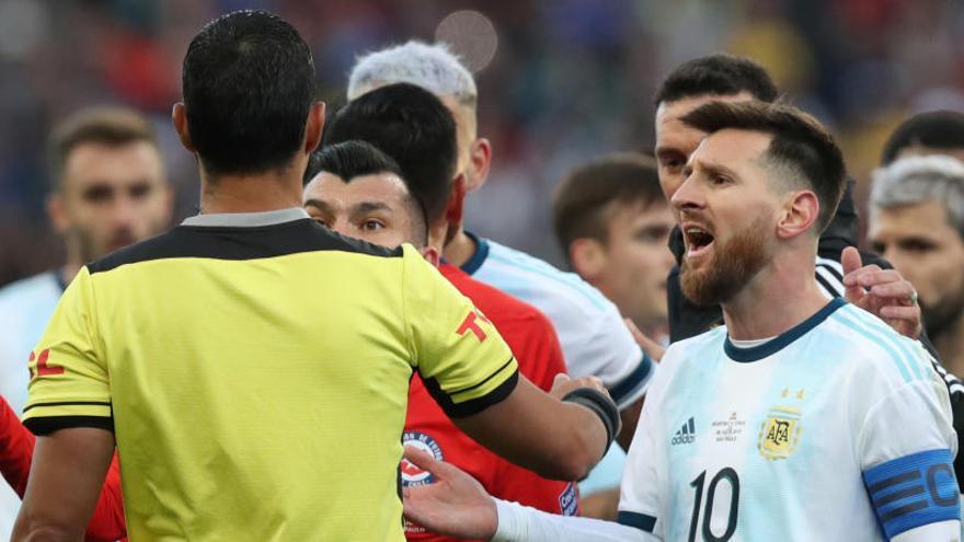 """Messi repudia la """"corrupción"""" en la Copa América"""