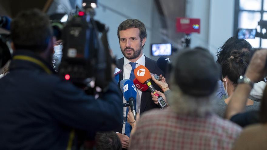 """Casado: """"La trayectoria de los candidatos para el Constitucional está fuera de toda duda"""""""