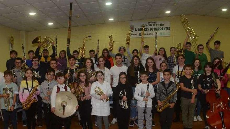 Ribadumia y Meaño compiten el fin de semana con las mejores bandas gallegas