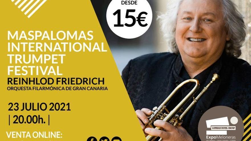 Reinhlod Friedrich - Orquesta Filarmónica de Gran Canaria