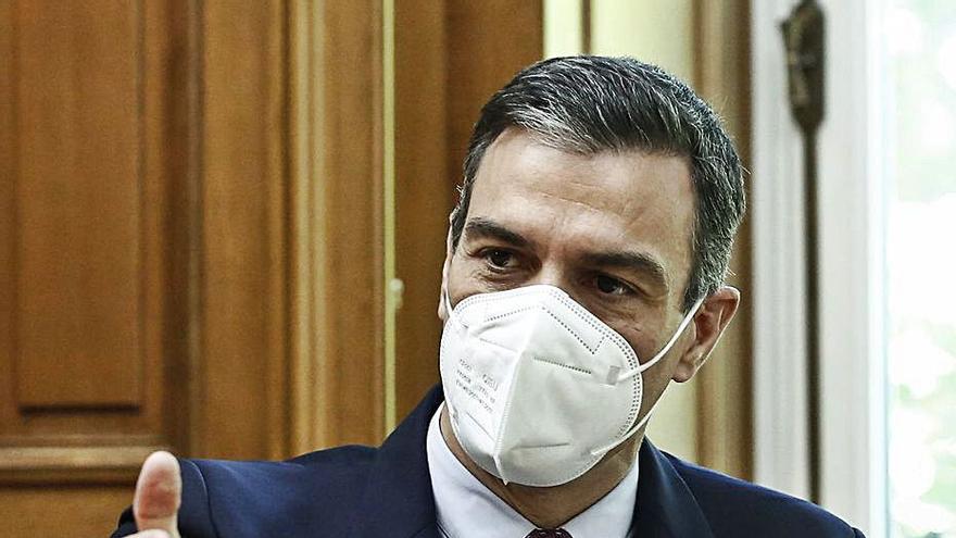 Pedro Sánchez no cedeix: «L'estat d'alarma és el passat i cal mirar al futur»