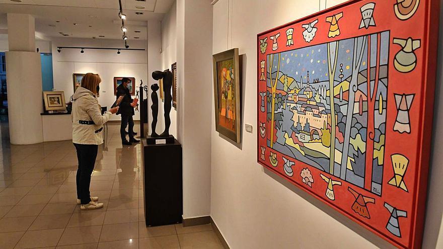 Xerión celebra sus 16 años de vida con una exposición de pintura y escultura gallega