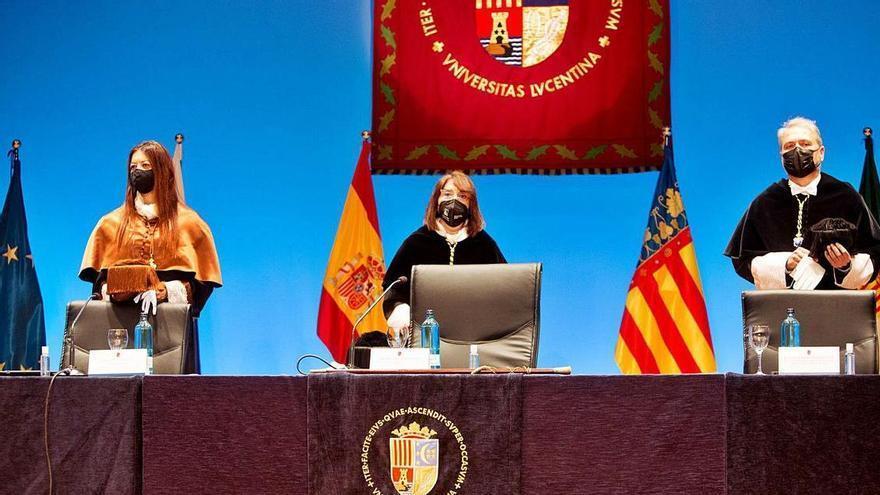 La rectora de la UA reclama «como mínimo» el 1,5% del PIB para las universidades