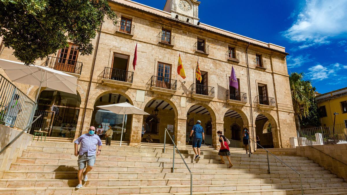 Imagen del Ayuntamiento de Dénia.
