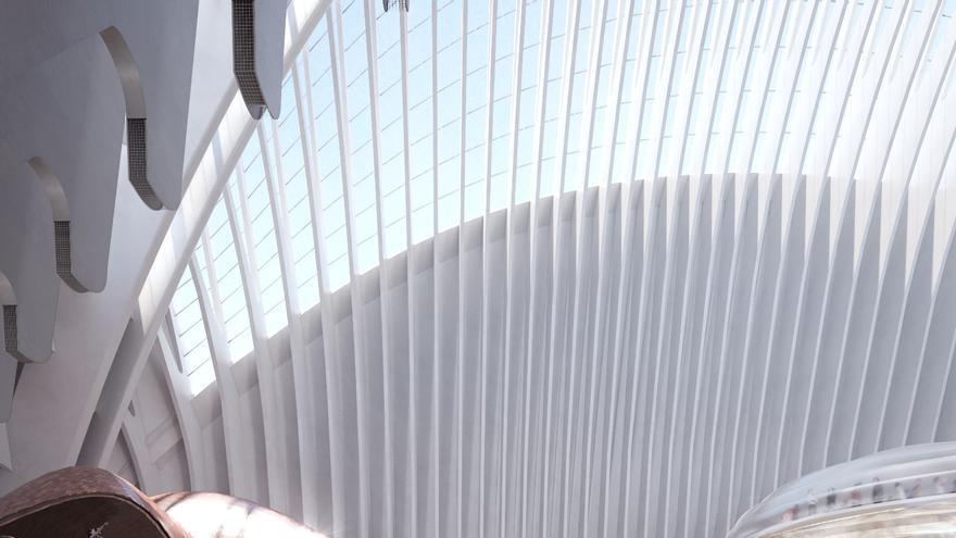 """CaixaForum Valencia será un """"paisaje natural"""" dentro del Ágora"""