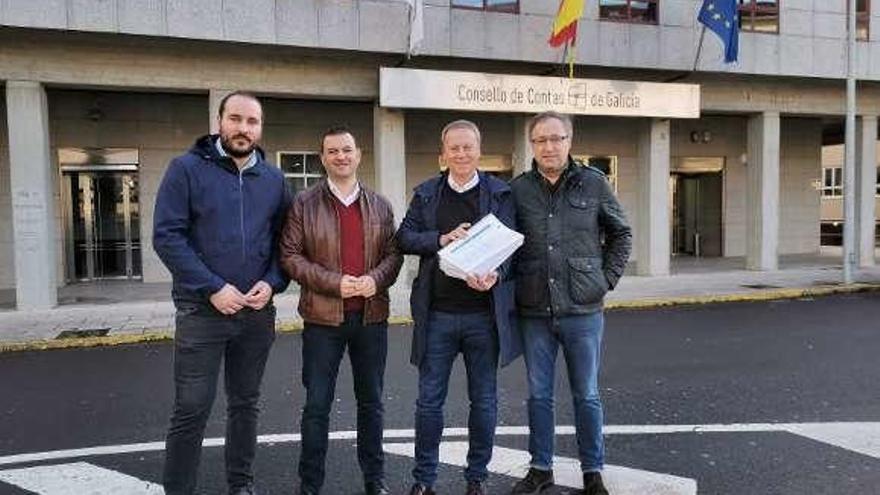 El PSOE denuncia en el Consello de Contas el reparto de contratos en la Diputación