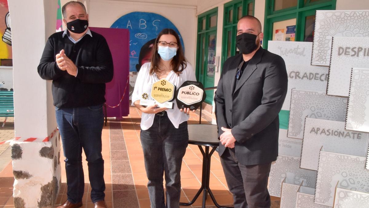 Ariadna Ramírez logra el primer premio del certamen Nutominuto Redescubre la Casa de la Juventud de Telde