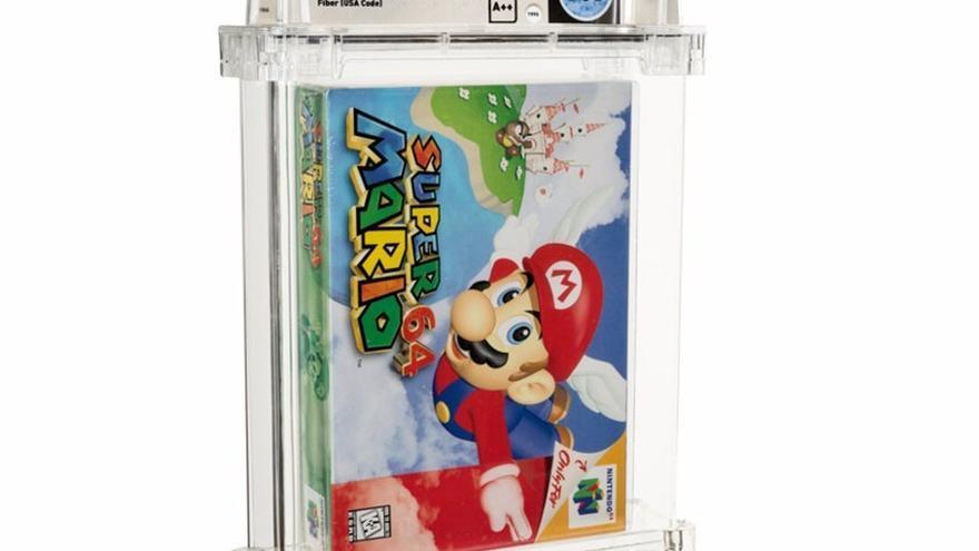 Subastan una copia sellada de Super Mario 64 por más de 1,5 millones de dólares