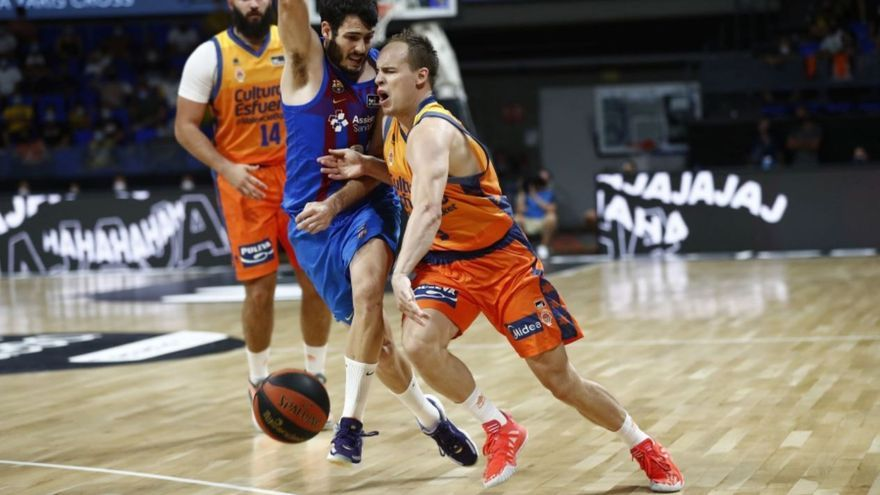 Baja de última hora en el Valencia Basket para el debut en Liga