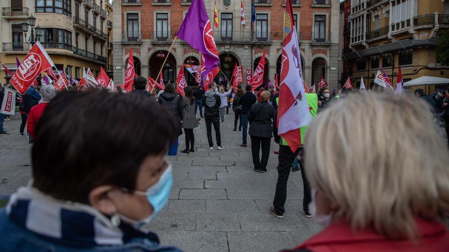 VÍDEO | Los sindicatos claman por un futuro con oportunidades laborales para Zamora