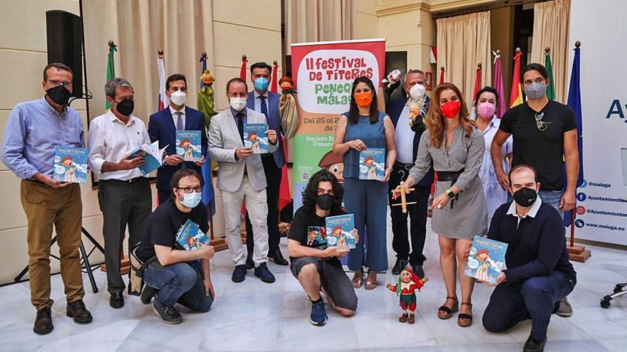 El Festival de Títeres Peneque Málaga reúne a compañías nacionales en el Eduardo Ocón