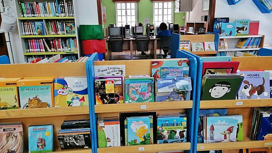 La Biblioteca de Poio reinicia su actividad con cita previa y con un aforo máximo del 30%