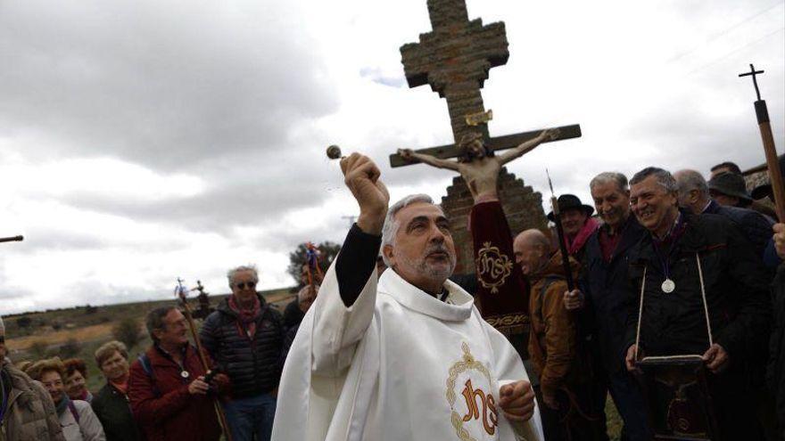 Domingo de Valderrey en Zamora: la cofradía celebra la misa y la bendición de campos