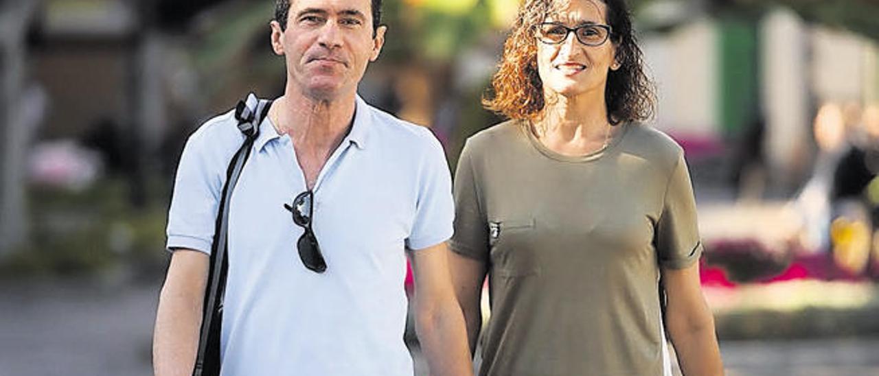 Ricardo Gutiérrez, ´Richard´, con Ana Rosa Ramos, su pareja.
