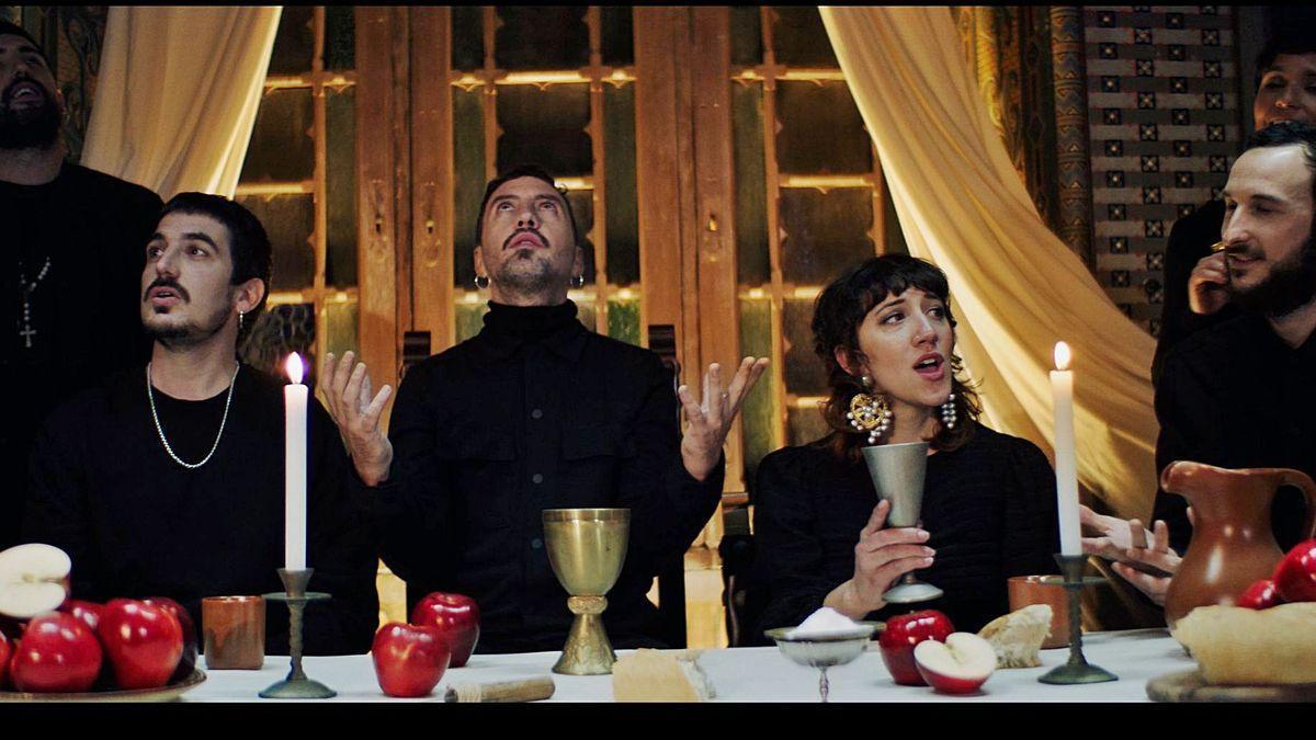Una de las escenas del videoclip 'Llepolies'.