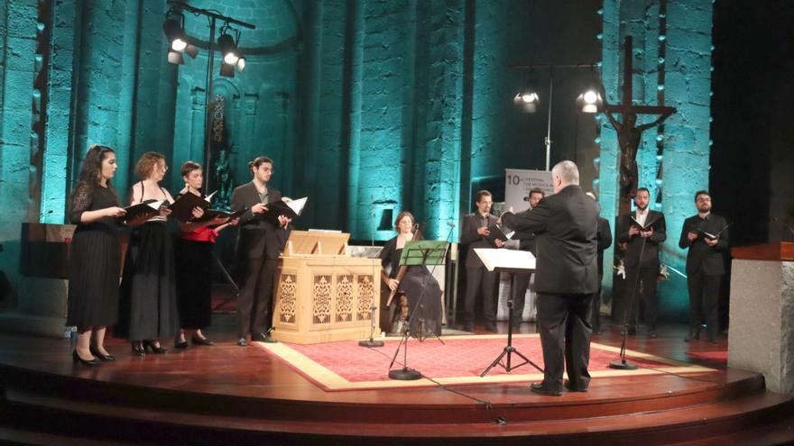 El Festival de Música Antiga dels Pirineus tanca amb 3.234 assistents, un 41% menys que el 2019