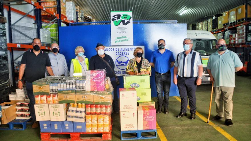 800 kilos para la delegación placentina del Banco de Alimentos