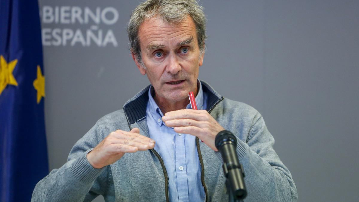 Fernando Simón comparece tras la reunión del Comité de Gestión Técnica del coronavirus
