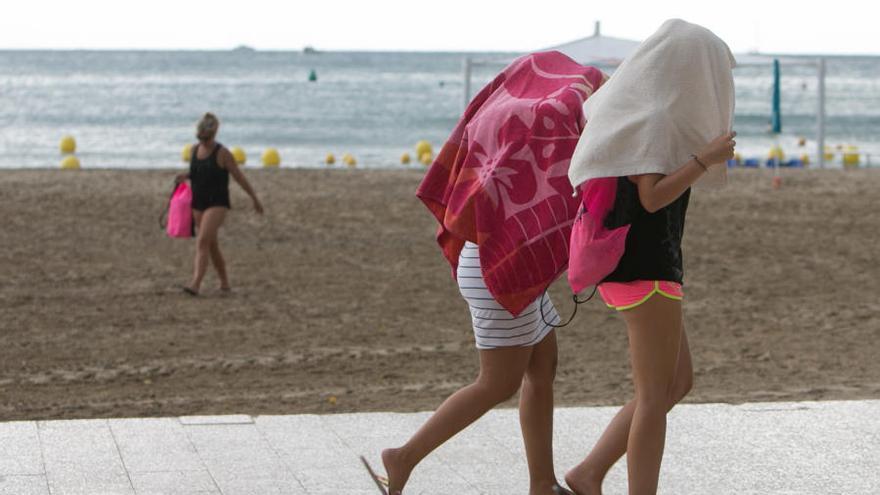 Amenaza de intensas tormentas en el litoral mediterráneo tras un fin de semana tranquilo