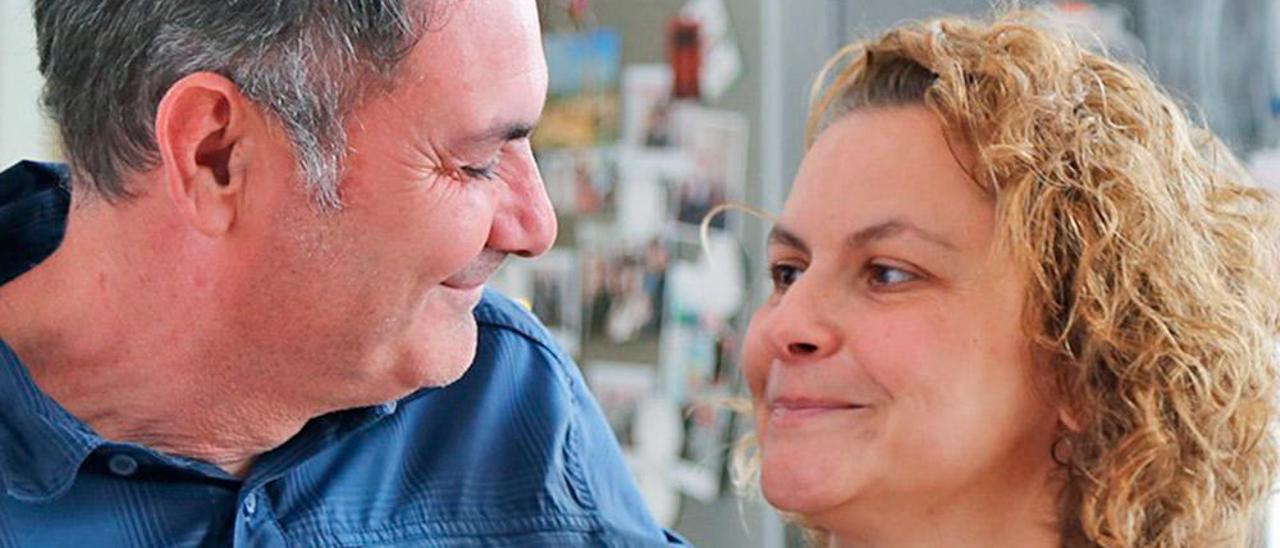 Ana del Alto y su marido, José Luis Fernández.