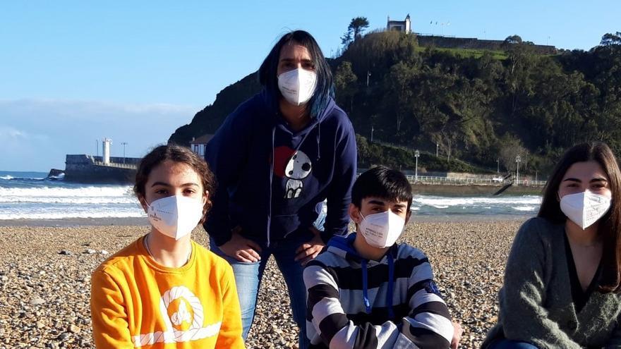 Cuatro alumnos riosellanos llevan a Asturias al podio de las Olimpiadas de Filosofía