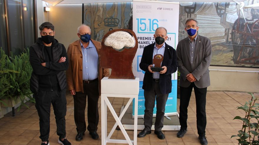 Rafel Pous, Pere Bech i l'ICFO, premis Manel Xifra i Boada