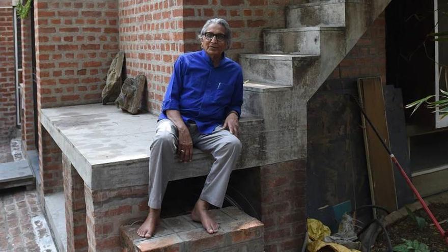 """Balkrishna Doshi, así es el primer """"Pritzker"""" indio"""
