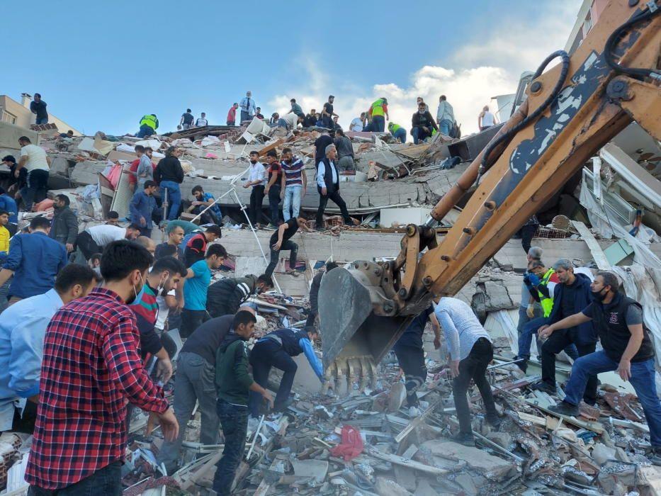 Efectes del sisme a Turquia