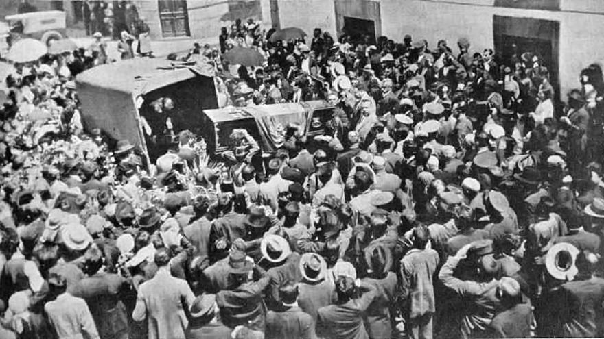 El entierro de Loriga, de Madrid a Losón
