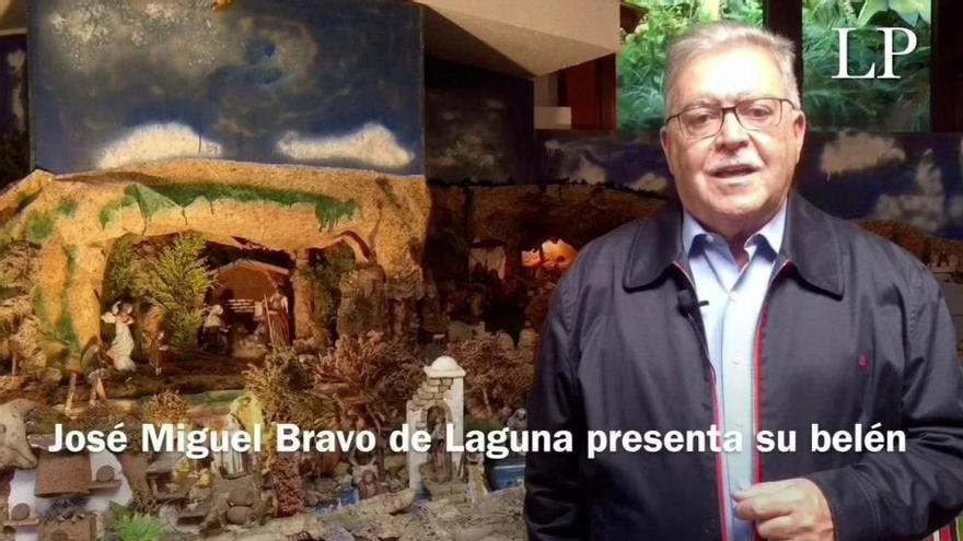 José Miguel Bravo de Laguna, consumado belenista
