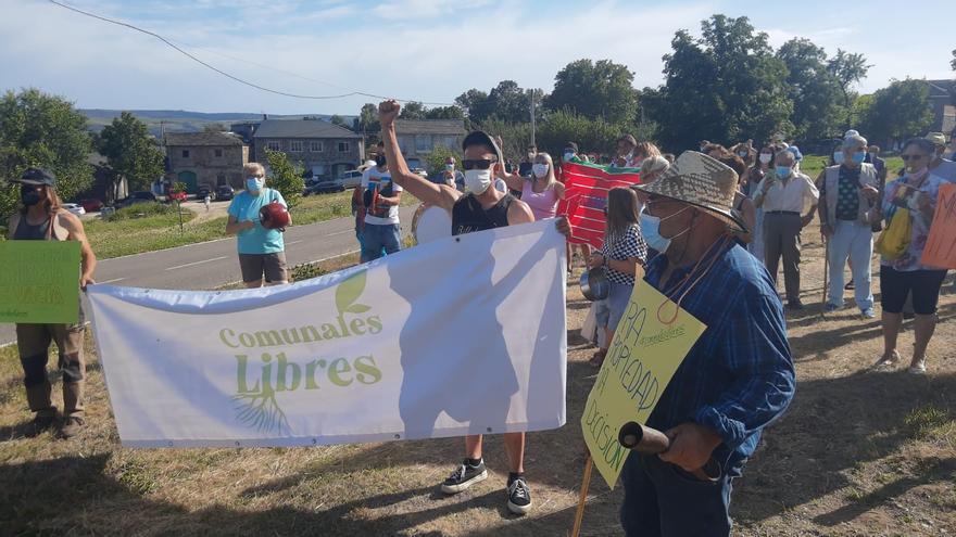 Los pueblos de Cobreros se movilizan contra la fotovoltaica