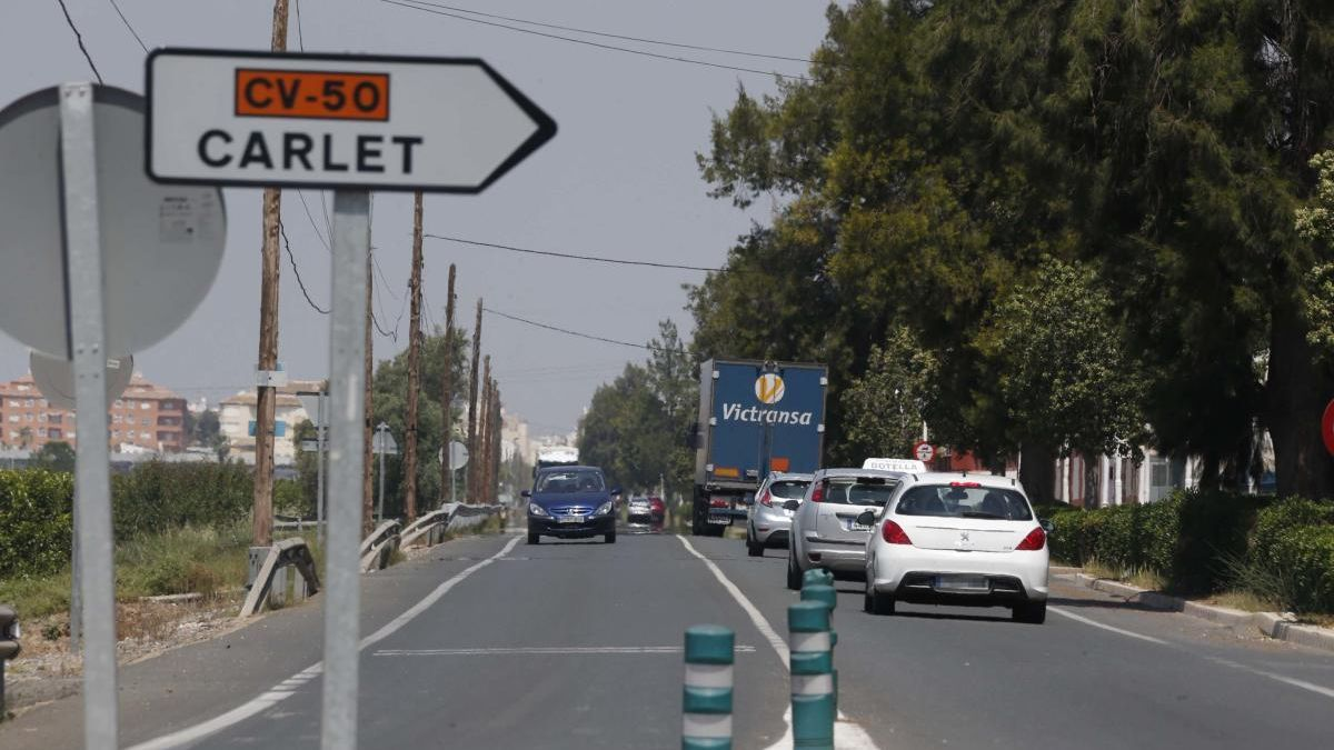 Obras Públicas adjudica el proyecto de un tramo de 1,8 km de la ronda de Carlet