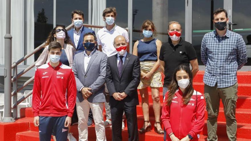 Los deportistas del Grupo Covadonga seguirán visitiendo Joma hasta el 2025 tras la renovación del convenio