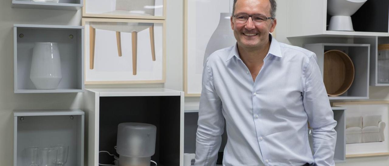 Juvencio Maeztu, vicepresidente mundial y director financiero de IKEA.