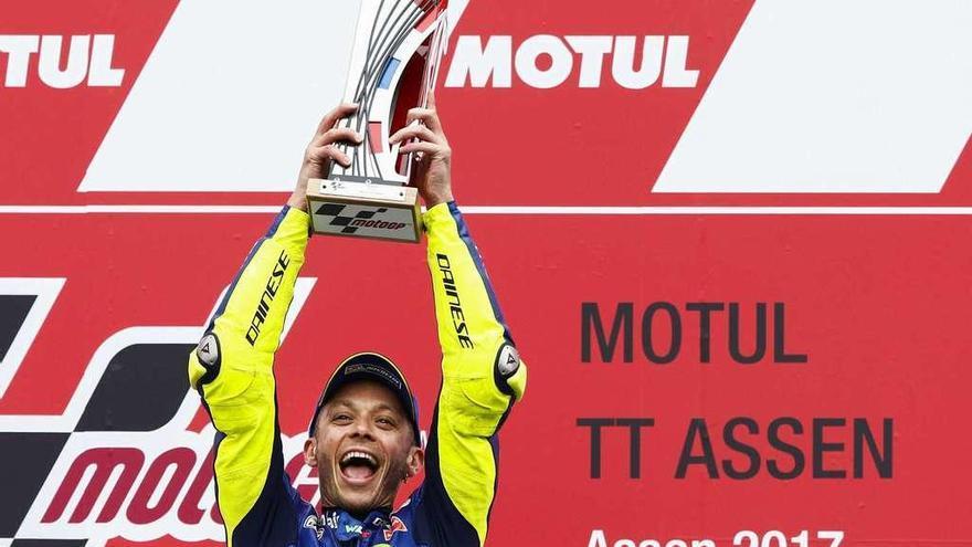 Rossi se corona por primera vez en 2017
