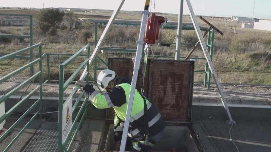 Aquona cierra 'El valor del agua en Zamora' dando vida a la ciudad