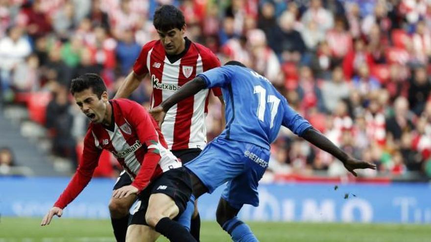 El Getafe alarga la mala racha de Berizzo y la agonía del Athletic