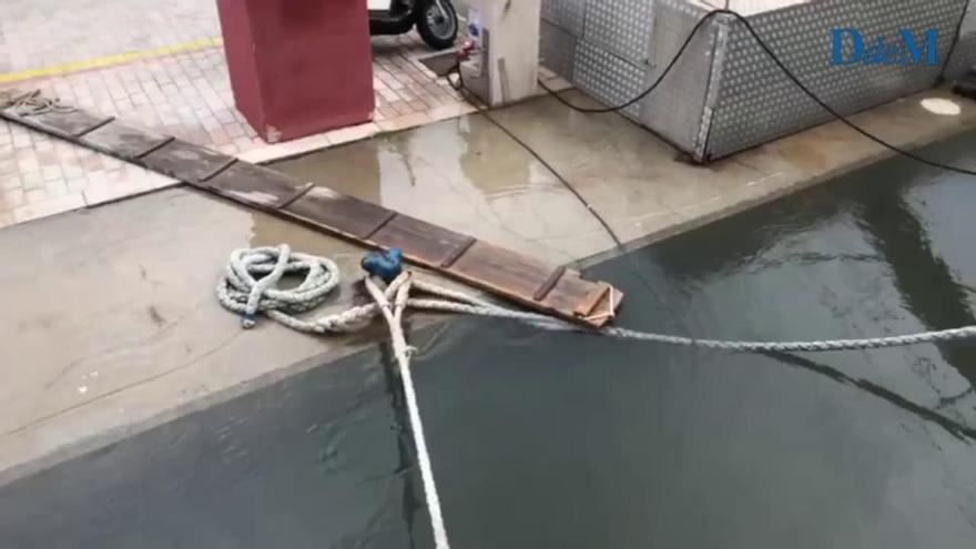 Rissaga lässt Meeresspiegel vor Port de Sóller 157 Zentimeter schwanken