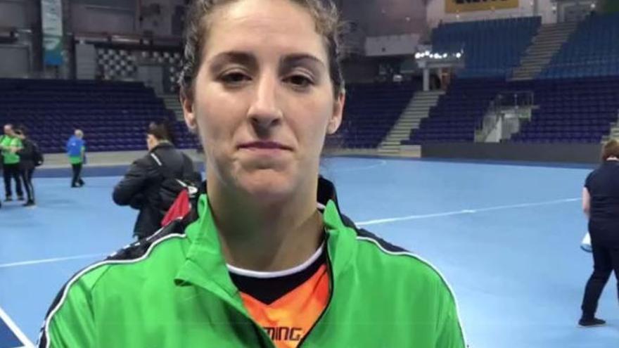 Manuela Pizzo, lateral del Rocasa, en exclusiva para La Provincia