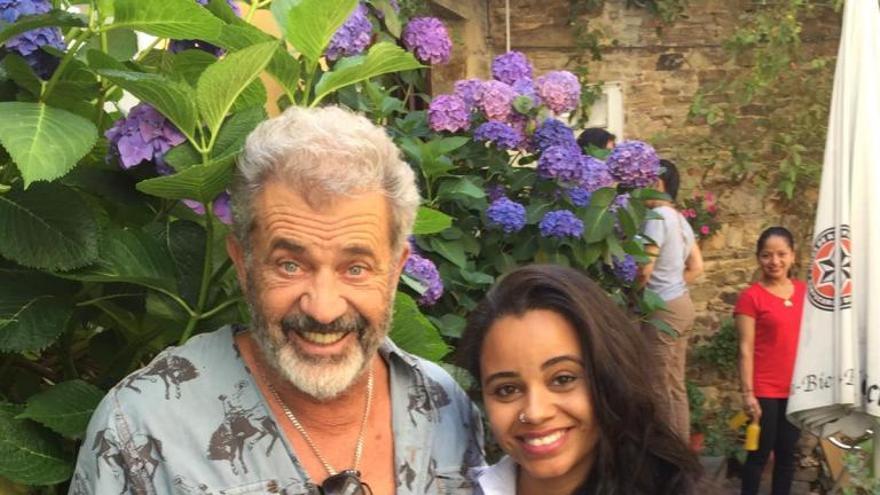 ¿Qué hace Mel Gibson en Galicia?