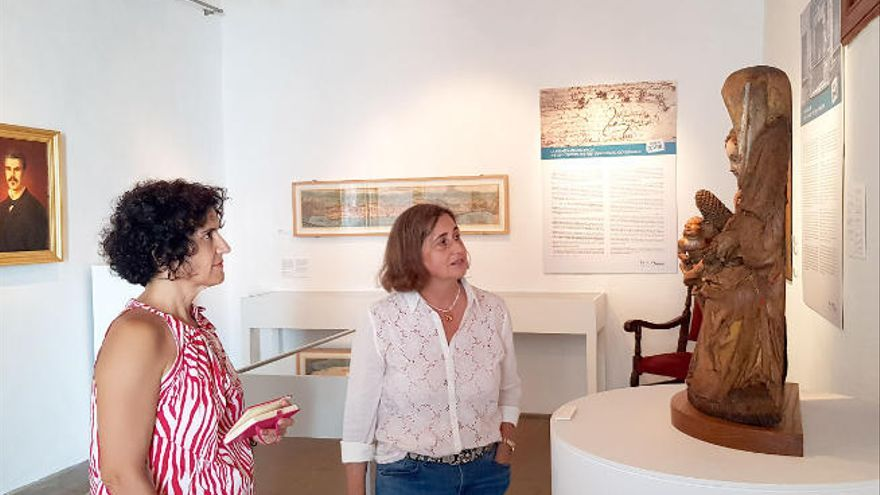 Monterrey anima a los palmeros a 'descubrir' el Museo Insular