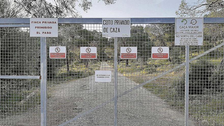 Denuncian el cierre del camino de Cala Figuera de Calvià con motivo de la Covid-19