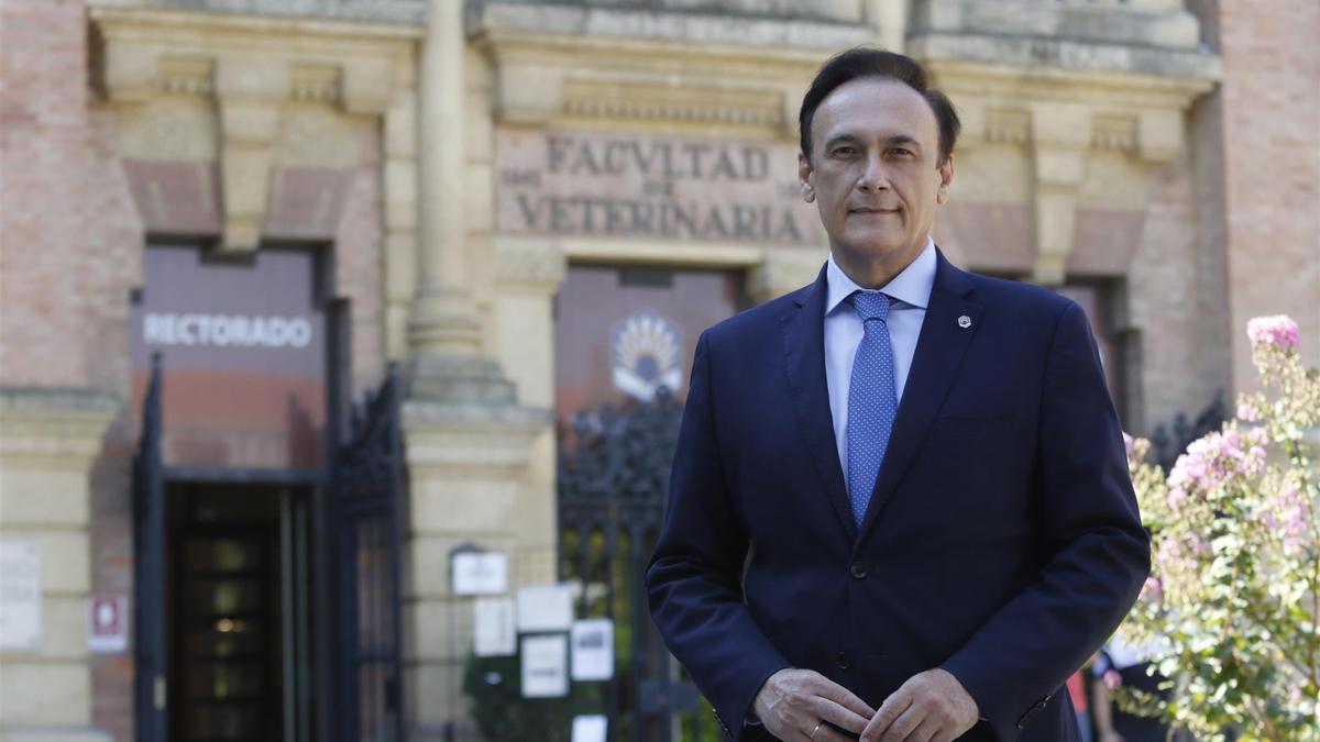 José Carlos Gómez Villamandos, presidente de la CRUE y rector de la Universidad de Córdoba.