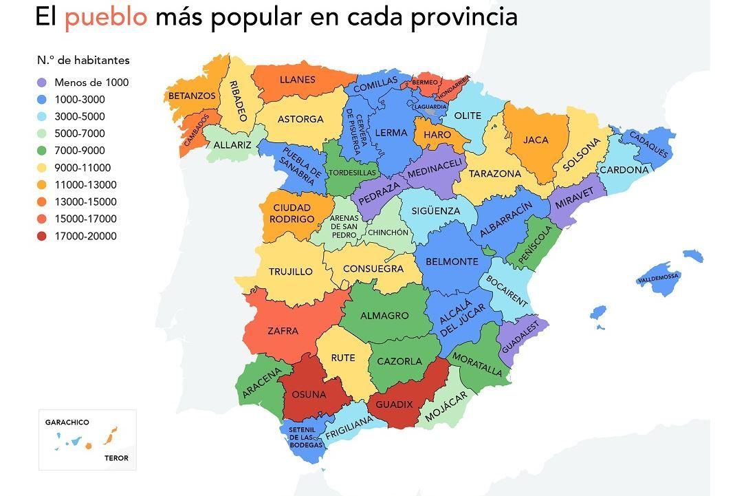 Los pueblos más populares de la Comunitat Valenciana