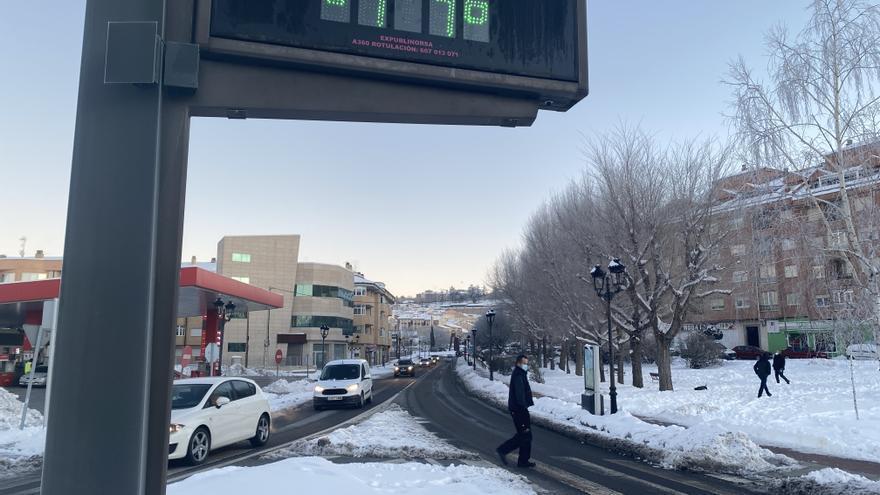 Los 16,4 grados bajo cero registrados en el puerto El Pico (Ávila), tercera temperatura más baja en España