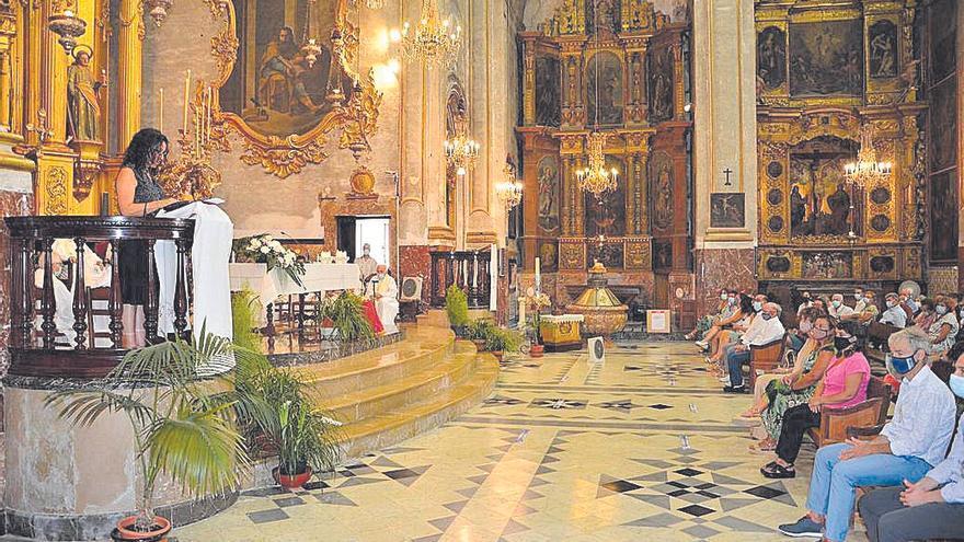 Presentan en Porreres la sillería gótica restaurada con motivo de Sant Roc